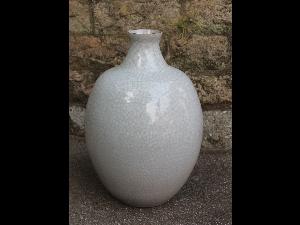 Large Celadon Vessel by Watanabe Akihiko