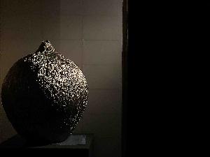 Silver Glazed Vessels by Kimura Toshikatsu