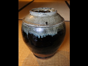 Mashiko Jar by Hamada Shoji