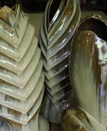 Takatori Sculptures-Vases by Sueyoshi Hiromitsu