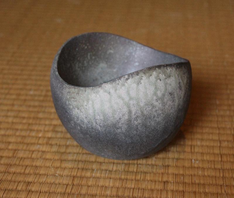 Tamba Ash-Glazed Chawan by Ichino Masahiko