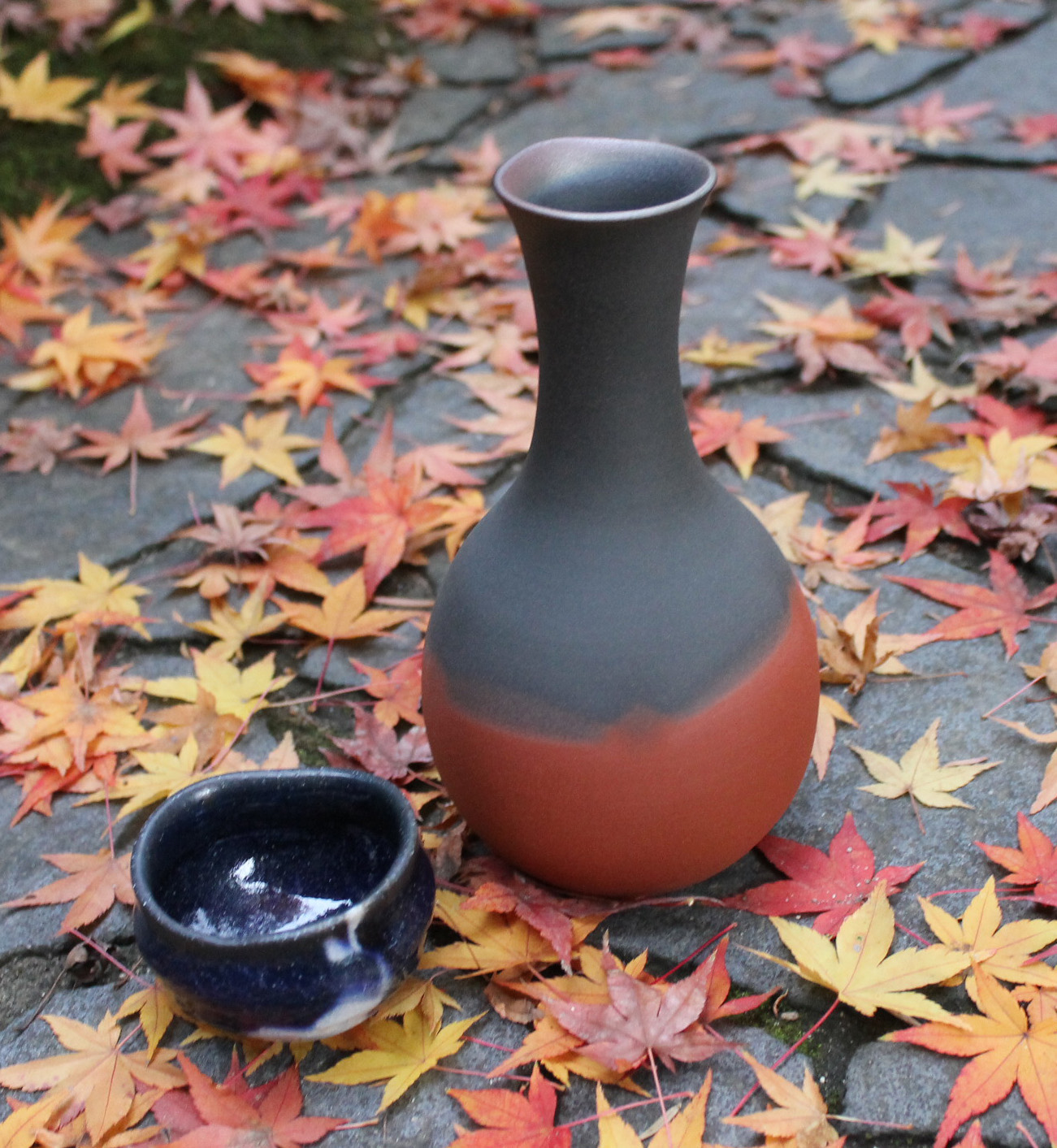 Mumyoi Vase by Living National Treasure Ito Sekisui