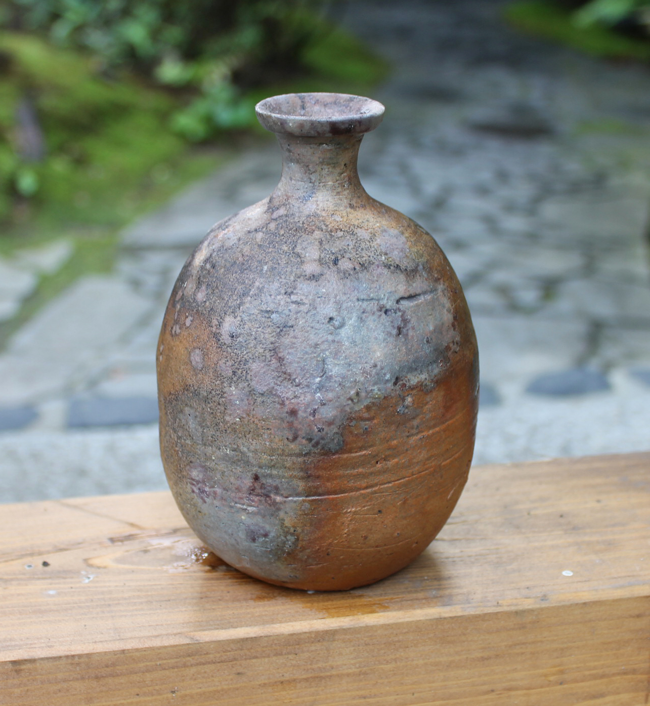 Fired Within the Largest Kiln: This Mori Togaku Bizen Tokkuri