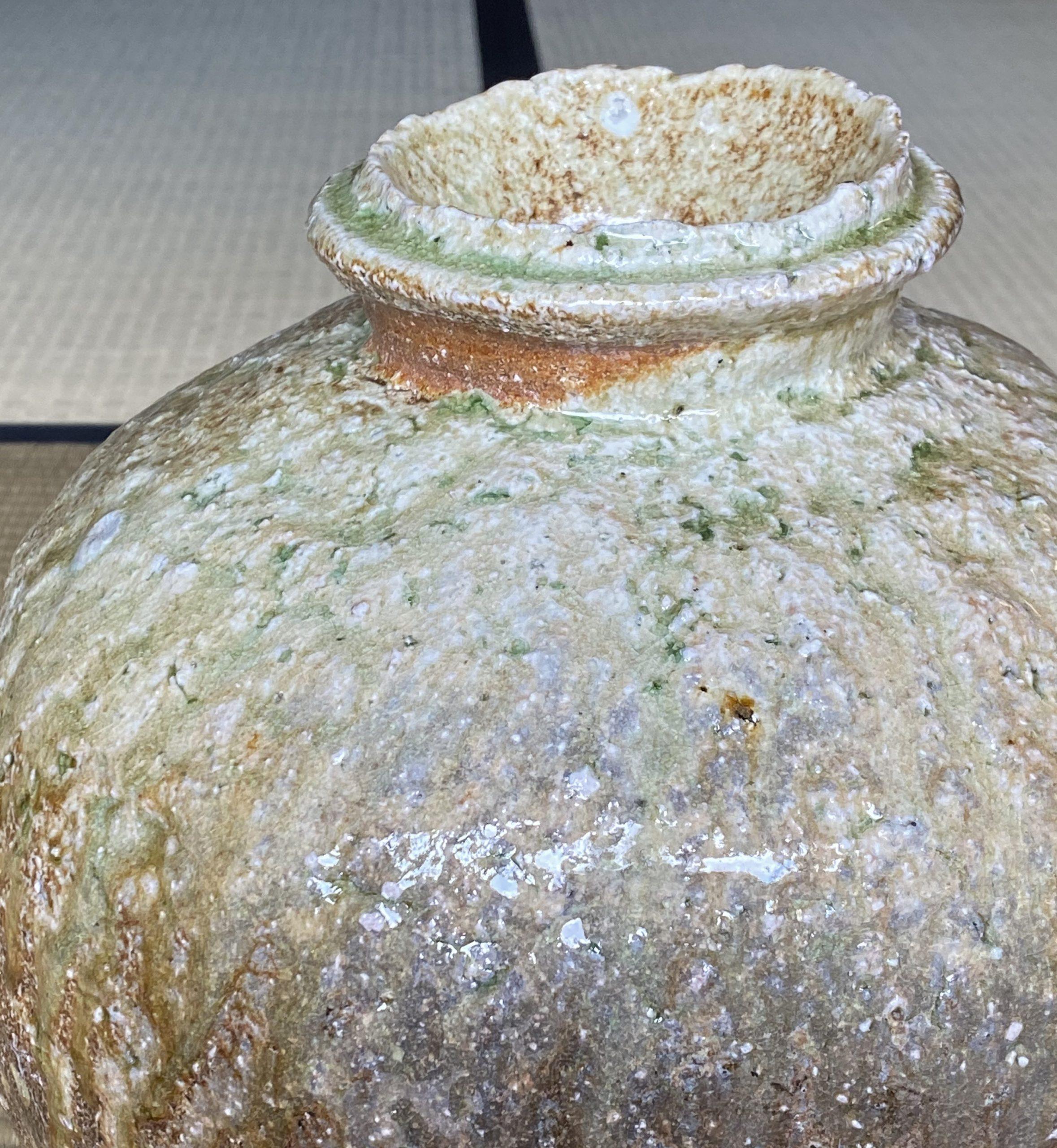 Iga Tsubo-Jar by Sugimoto Sadamitsu